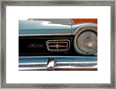 Maverick Framed Print by Off The Beaten Path Photography - Andrew Alexander