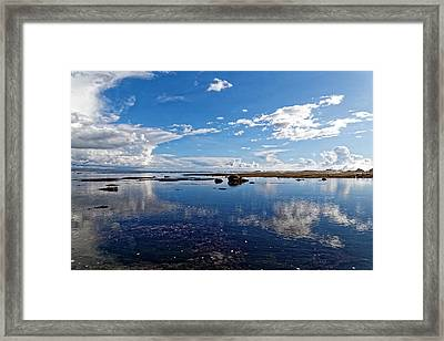Mavericks Beach Framed Print