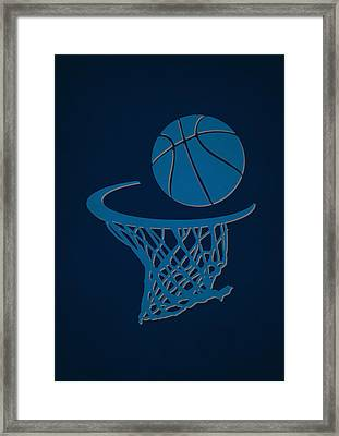 Mavericks Team Hoop2 Framed Print