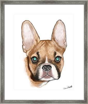 max Framed Print by Eric Smith