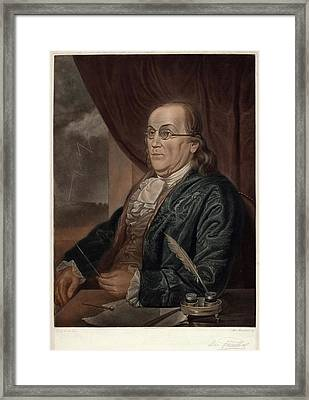 Max Rosenthal After Charles Willson Peale Framed Print by Quint Lox