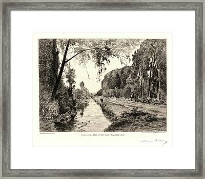 Maxime Lalanne French Framed Print by Litz Collection