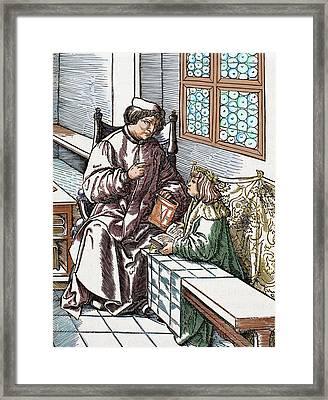 Maximilian I (1459-1519 Framed Print by Prisma Archivo