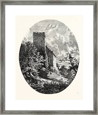 Maximilians Tower, Suabia. Swabia, Sometimes Suabia Or Framed Print by German School