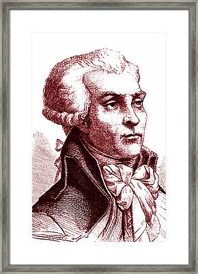 Maximilien Robespierre Framed Print by Collection Abecasis