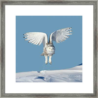Maximum Lift Framed Print by Heather King