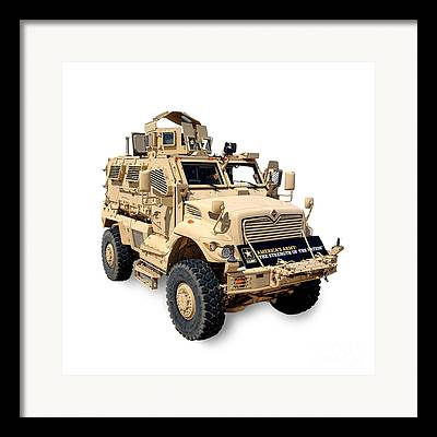 Armored Fighting Vehicles Framed Prints