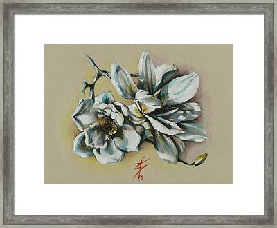 May Beauty Be With You.. Framed Print by Alessandra Andrisani