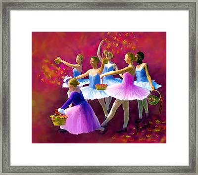 May Dancers Framed Print by Ric Darrell
