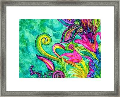 May Flowers Framed Print