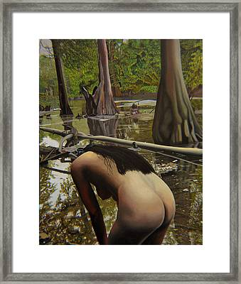 May Morning Arkansas River  2 Framed Print