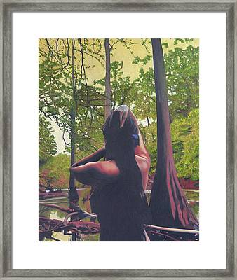 May Morning Arkansas River 5 Framed Print