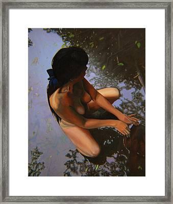 May Morning Arkansas River Framed Print