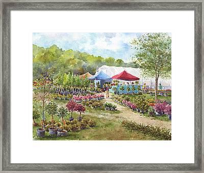 May Morning Framed Print by Leslie Fehling
