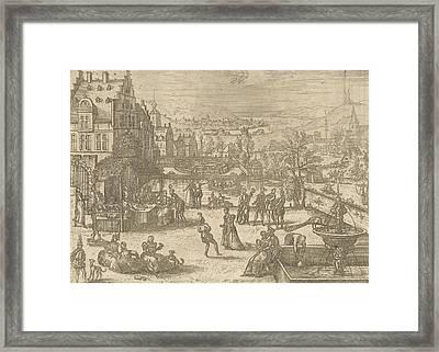 May, Pieter Van Der Borcht Framed Print by Pieter Van Der Borcht (i)