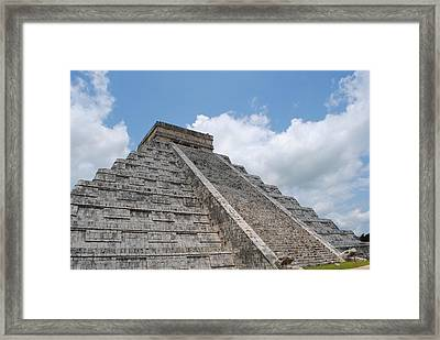 Framed Print featuring the photograph Maya Architecture by Robert  Moss
