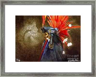 Maya... Framed Print by Will Bullas