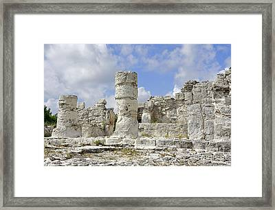 Mayan El Rey Framed Print by Charline Xia