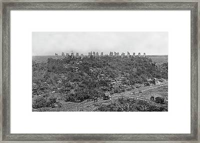 Mayan Ruins Framed Print by American Philosophical Society