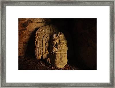 Mayan Tomb Framed Print