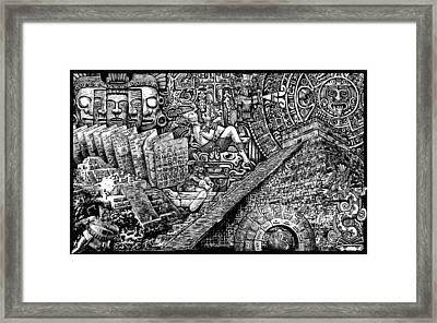 Mayannual Framed Print