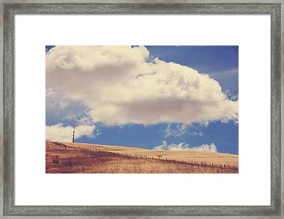 Maybe Far Away Framed Print