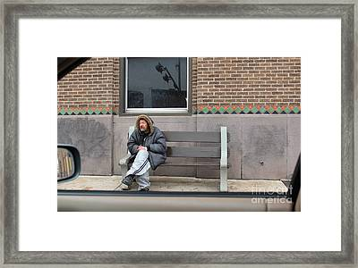 Maybe Seen But Not Noticed Framed Print by Joe Jake Pratt