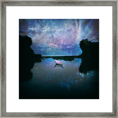 Maybe Stars Framed Print by Stelios Kleanthous