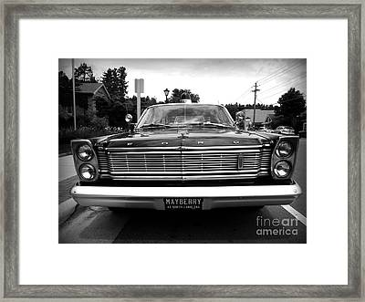 Mayberry Framed Print by R Dupras