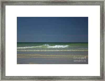 Mayflower Beach On Cape Cod Framed Print