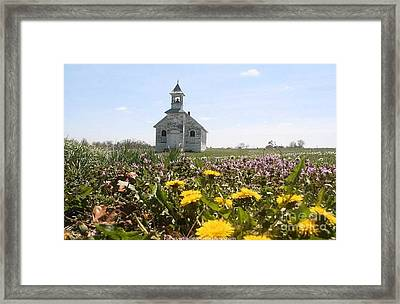 Mayflower Church Framed Print
