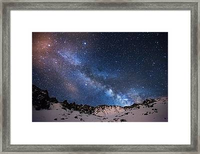 Mayflower Gulch Milky Way Framed Print