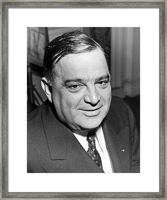 Mayor Fiorello Laguardia Framed Print by Underwood Archives