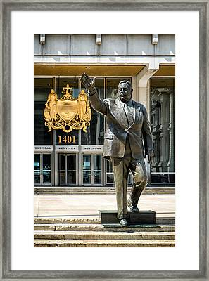 Mayor Frank L. Rizzo Monument Framed Print