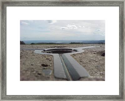 Framed Print featuring the photograph Maytrig by John Williams