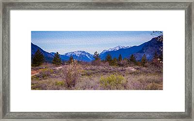 Mazama From Wolf Creek Framed Print by Omaste Witkowski