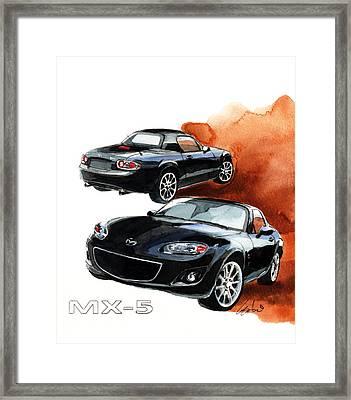 Mazda Mx-5 Framed Print
