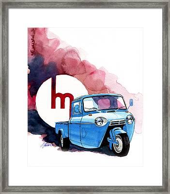 Mazda T1100 Framed Print