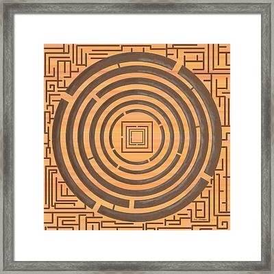 Maze 2 Framed Print by Tim Stringer