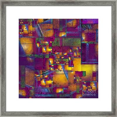 Maze Of The Heart Framed Print