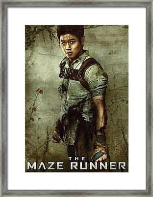 Maze Runner 2 Framed Print