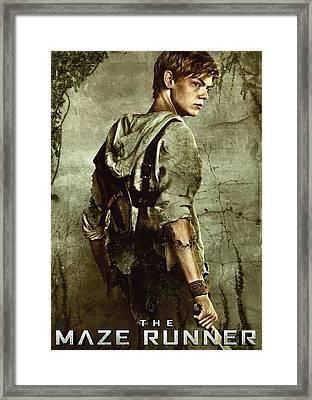 Maze Runner 3 Framed Print