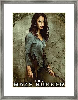 Maze Runner 4 Framed Print