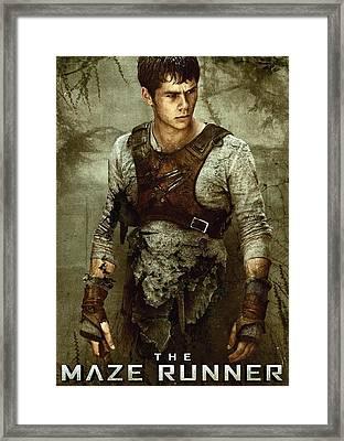Maze Runner 5 Framed Print