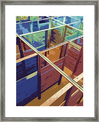 Labirinto Framed Print by Julio Lopez