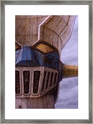 Mazinger Framed Print by Jose Luis Munoz Luque