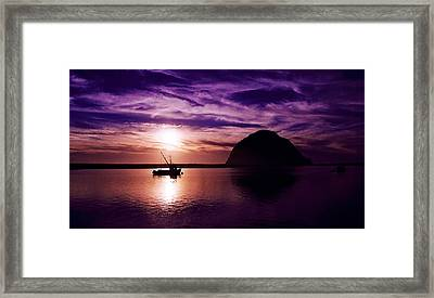Mb Harbor  Framed Print