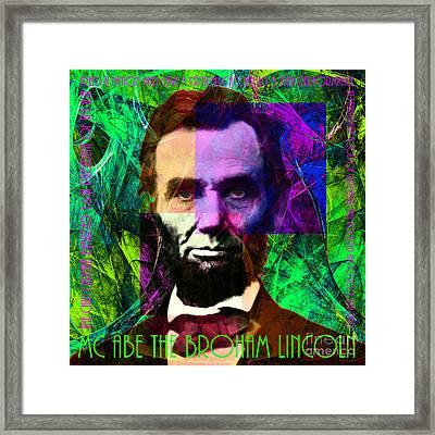 Mc Abe The Broham Lincoln 20140217p108 Framed Print