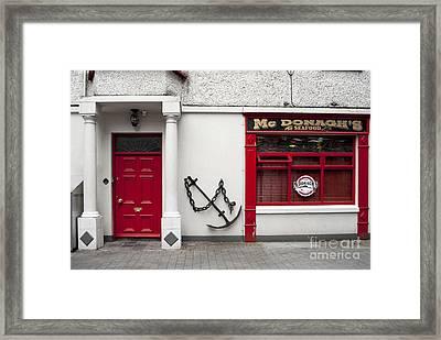 Mc Donagh's Seafood Framed Print