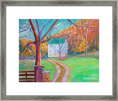 Mc Donalds Mill Framed Print by Todd Bandy